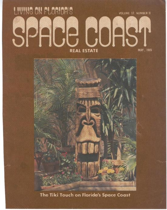 Space Coast Real Estate Magazine Cover 1985
